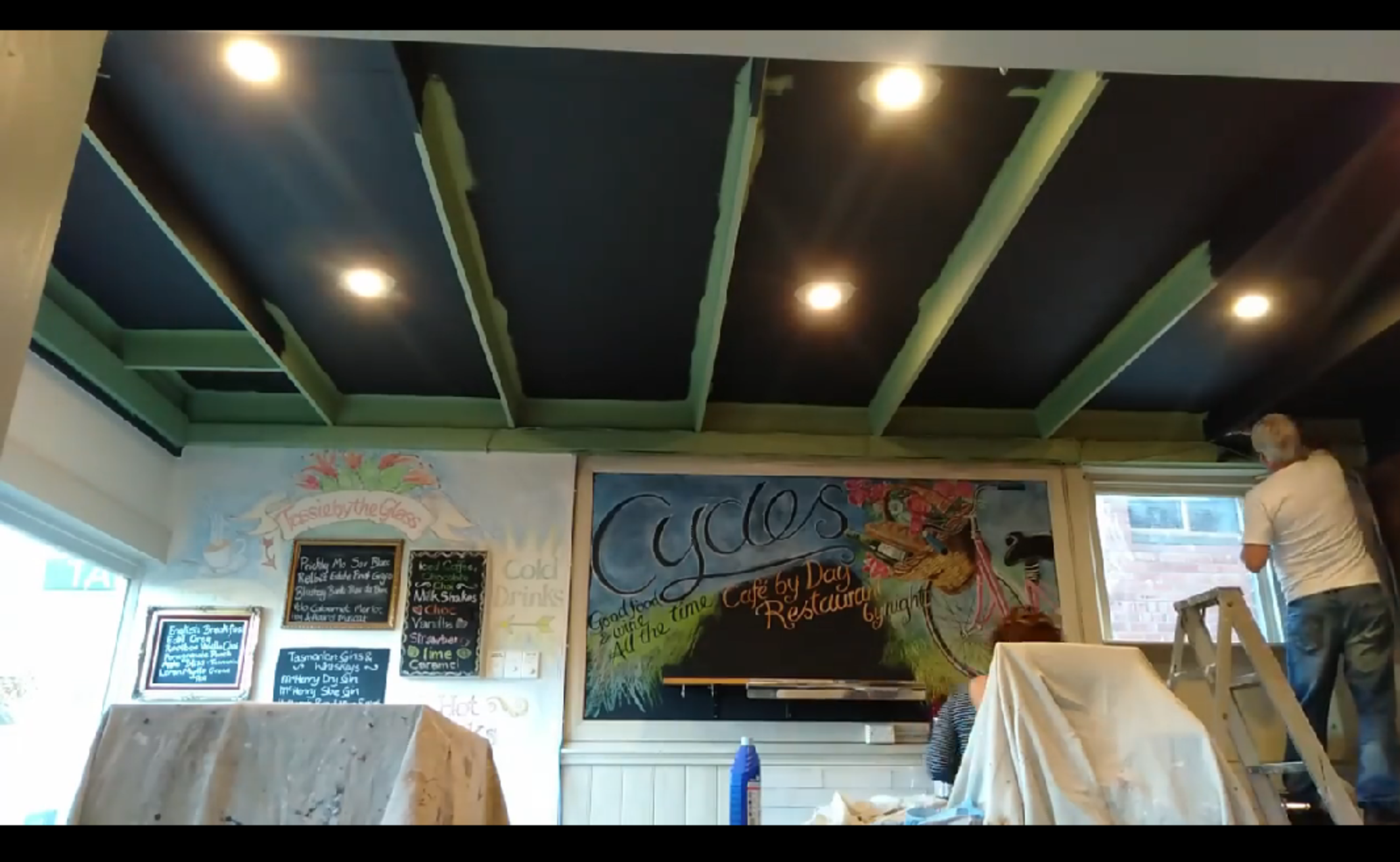 Painting cafe